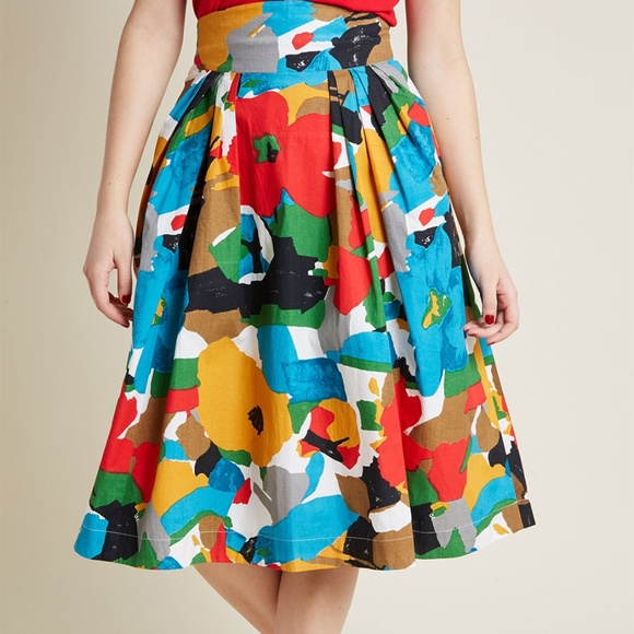 5fd40ac3f1 ModCloth Emily and Fin Far Out and Fabulous Skirt.  M_5cb4332b7a8173007b22eaeb